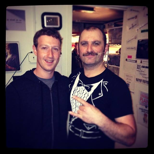 Mark Zuckerberg Visits Sister Randi Backstage At ROCK OF AGES