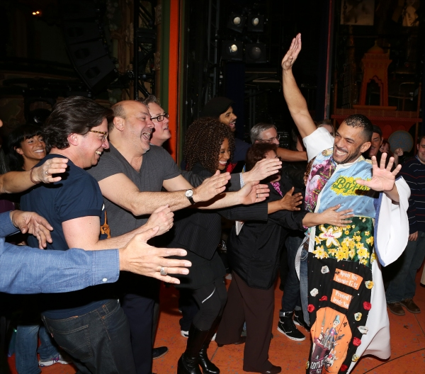 Photo Coverage: Inside the ALADDIN Gypsy Robe Ceremony