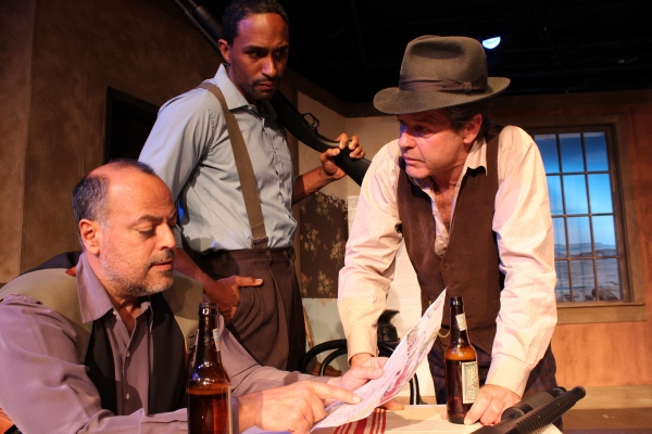 BWW Reviews: THE PETRIFIED FOREST is a Clever Mash-Up of a Love Story, Gangster Tale, and Political Drama
