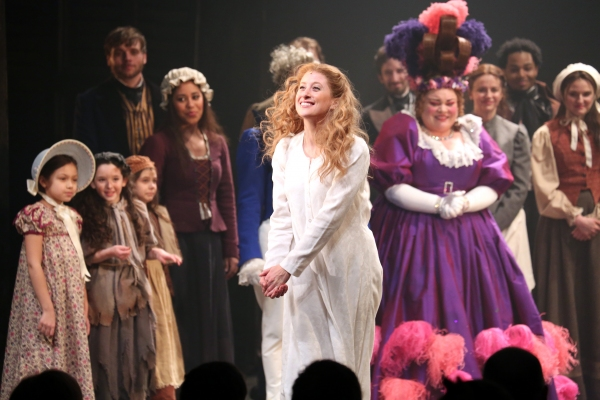 Photo Coverage: LES MISERABLES Company Takes Opening Night Bows!