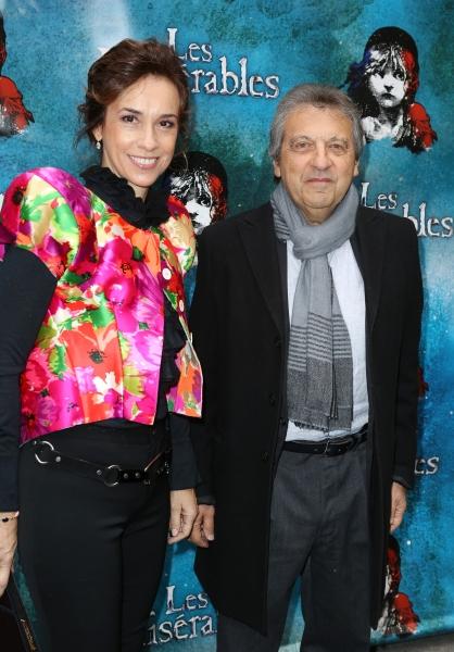 Marie Zamora and Alain Boublil