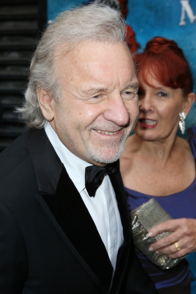 Colm Wilkinson and wife Deidre Wilkinson