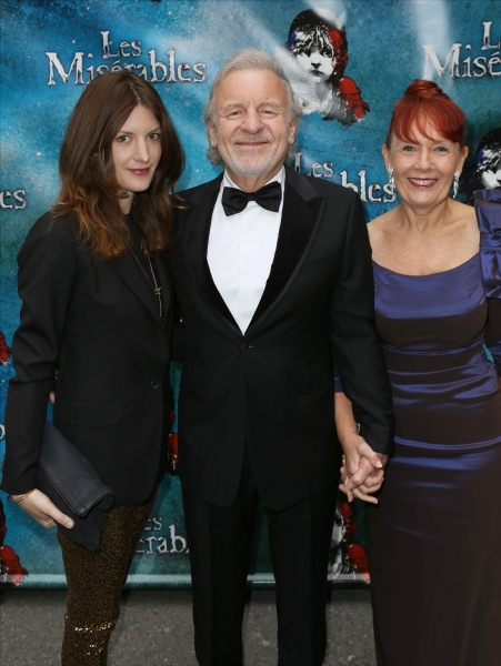 Sarah Wilkinson, Colm Wilkinson and wife Deidre Wilkinson