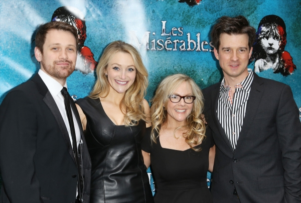 Michael Arden, Betsy Wolfe, Rachael Harris and Christian Hebel