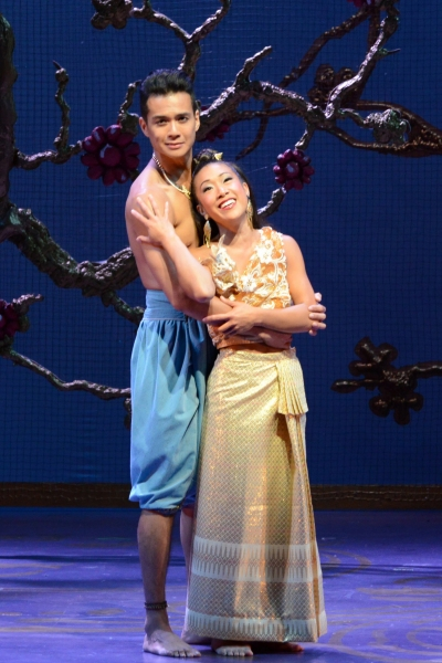 JP Moraga, as Lun Tha, and Kay Trinidad, as Tuptim