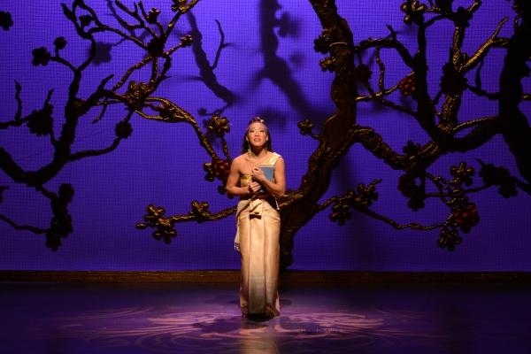 Kay Trinidad, as Tuptim, performs a solo