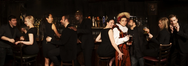 Photo Flash: Meet the Cast of DRUNK SHAKESPEARE, Begin. 3/26 at Quinn's Bar