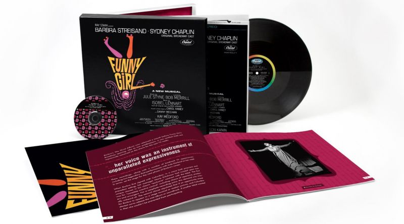 EXCLUSIVE: FUNNY GIRL 50th Anniversary Original Broadway Cast Recording Set for 4/29 Splashy Remastered Release