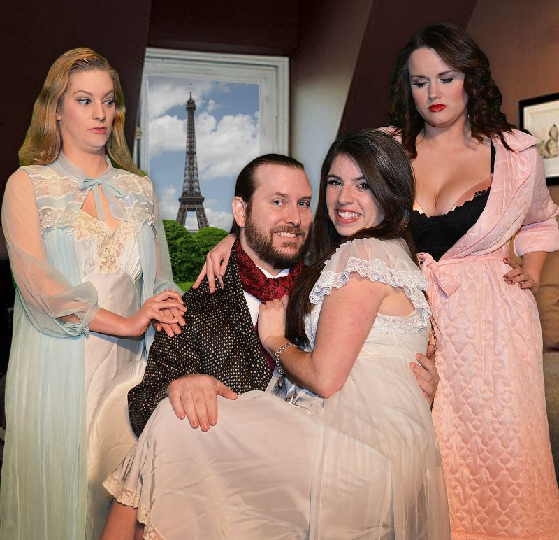 BWW Reviews: The Texas Repertory Theatre's BOEING BOEING is Light-Hearted Fun