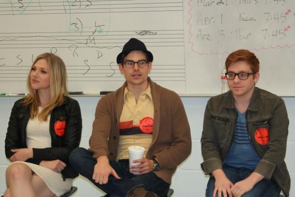 Steffani Leigh, Matt Shingledecker, Lee Slobotkin Photo