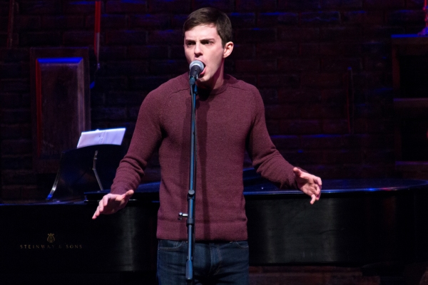 Photo Coverage: Ryan Scott Oliver Kicks Off Murderous Musical Mondays at MURDER FOR TWO