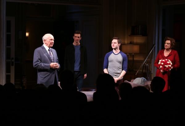 Director Sheryl Kaller, Playwright Terrence McNally, Frederick Weller, Bobby Steggert Photo