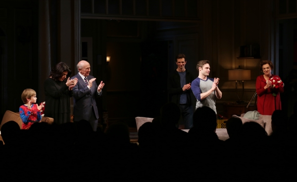 Grayson Taylor, Director Sheryl Kaller, Playwright Terrence McNally, Frederick Weller Photo