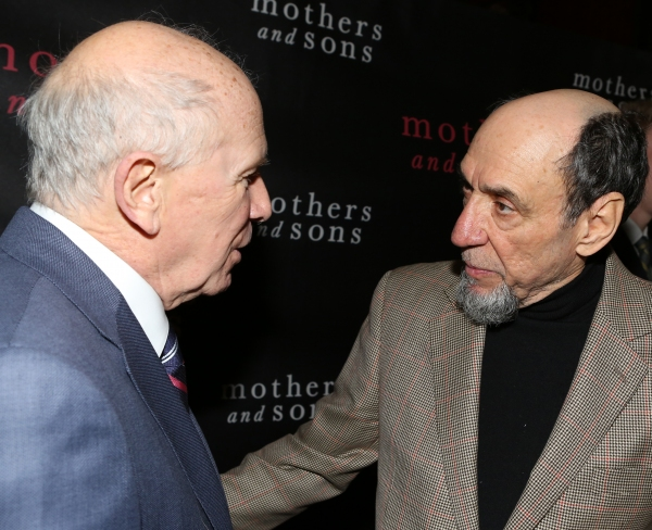 Terrence McNally and F. Murray Abraham