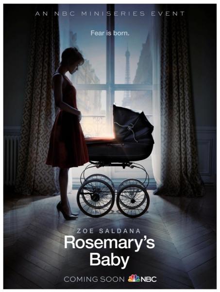 Photo Flash: First Look - Zoe Saldana Stars in NBC Miniseries ROSEMARY'S BABY