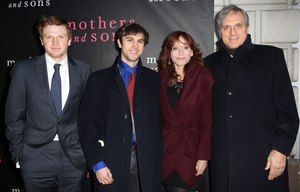 Joseph Lieberman, Nicholas Lieberman, Marilu Henner and Michael Brown