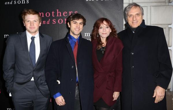 Joseph Lieberman, Nicholas Lieberman, Marilu Henner and Michael Brown