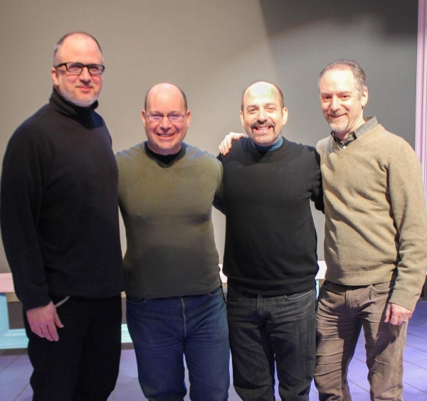 Bob Richard, Stephen Cole, David Krane and Lawrence Goldberg