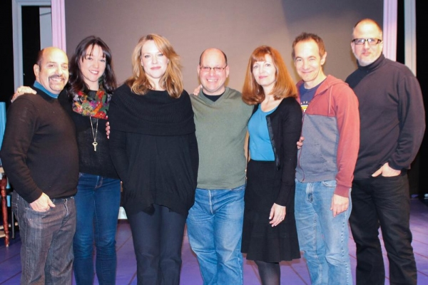 Cast and Creative Team: David Krane, Cameron Adams, Emily Skinner, Stephen Cole, Lynn Halliday, Jason Graae and Bob Richard