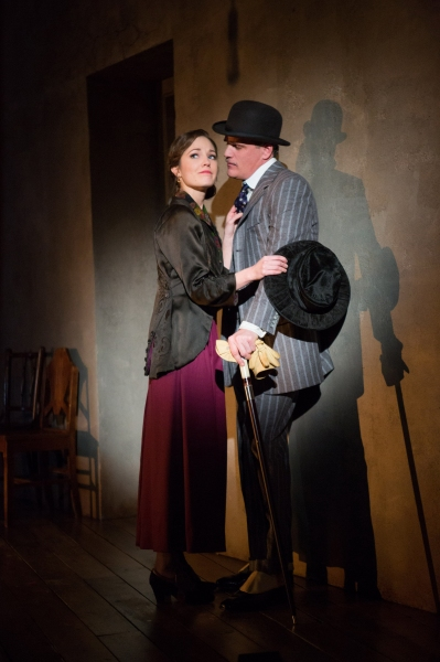 Michael Park and Laura Osnes