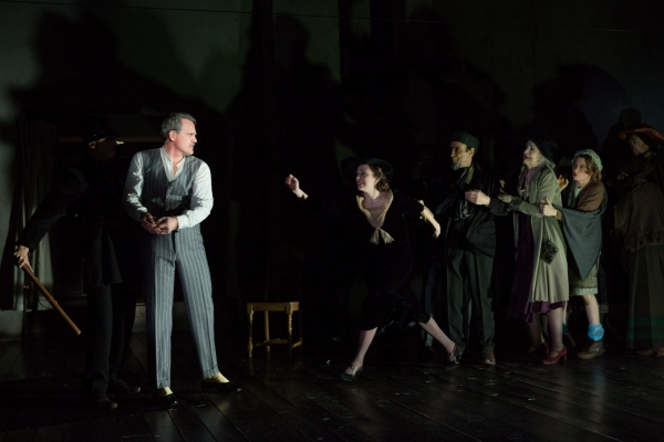 Photo Flash: First Look at Michael Park, Laura Osnes, Mary Beth Peil and More in Atlantic Theater's THE THREEPENNY OPERA