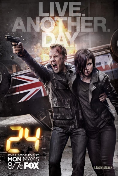 Photo Flash: Fox Rolls Out New Poster & Promo for 24: LIVE ANOTHER DAY