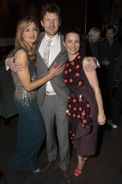 Natascha McElhone, Mark Bazeley and Kristin Davi