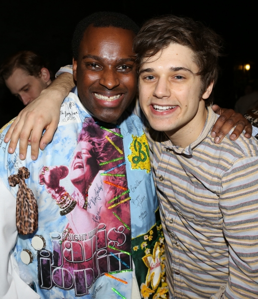 Arbender J. Robinson and Andy Mientus