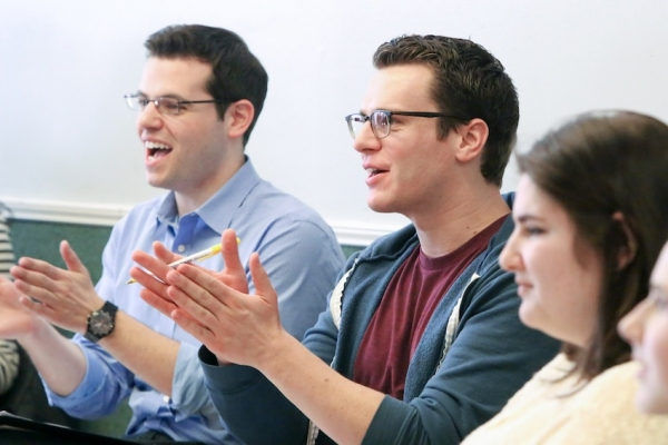 Photo Flash: Jonathan Groff Teaches Broadway Workshop Masterclass in NYC