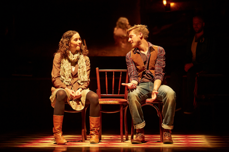Photo Flash: First Look at Arthur Darvill in West End's ONCE