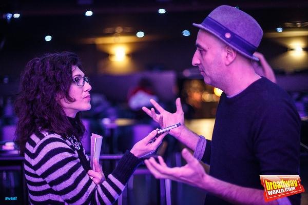 David Ottone durante la entrevista con BWW Spain Photo