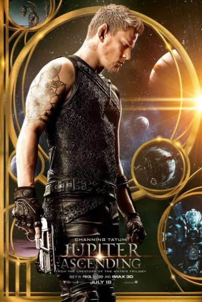 Photo Flash: Channing Tatum, Mila Kunis Featured in JUPITER ASCENDING Character Posters