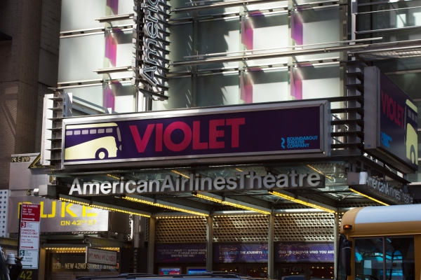 Up on the Marquee: VIOLET