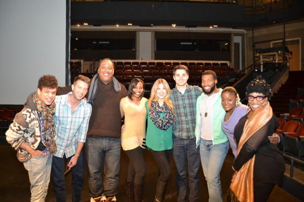 Photo Flash: In Rehearsal with Levi Kreis, E. Faye Butler and More in SMOKEY JOE'S CAFE at Arena Stage