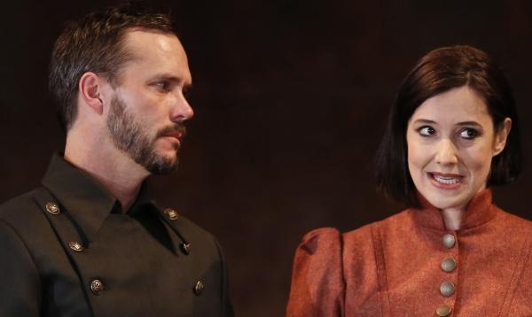 Saxon Palmer and Bianca Amato