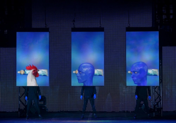 Photo Flash: Sneak Peek - BLUE MAN GROUP Returns to Salt Lake City Tonight