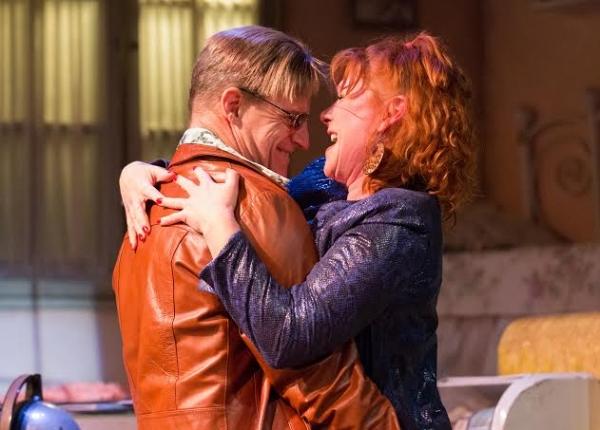 Anthony Lawton and Denise Whelan Photo