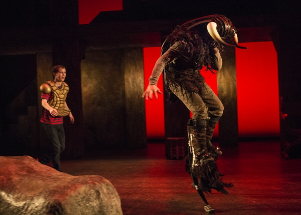 Photo Flash: First Look at Young People's Theatre's MINOTAUR