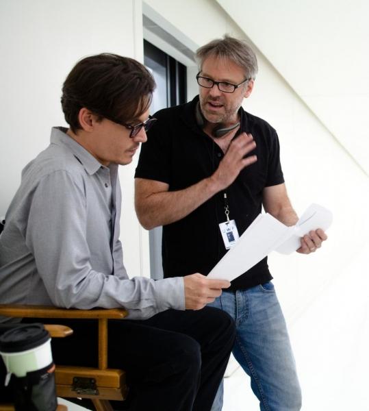 Photo Flash: New Stills From TRANSCENDENCE, Starring Johnny Depp