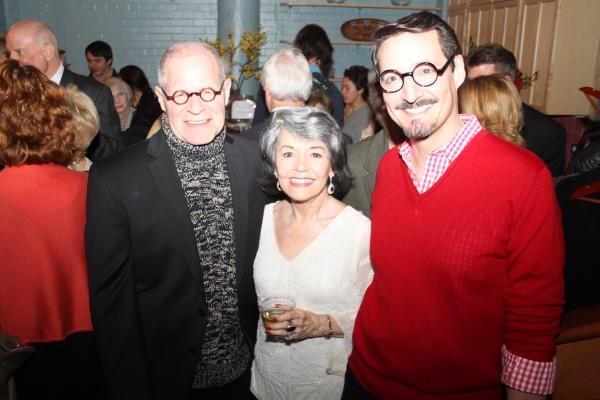 Brian Richard Mori, Marcia Rodd and Jeff Woodman