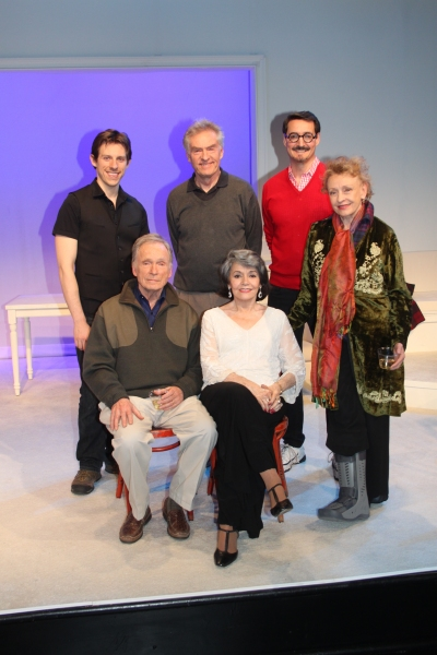 Rowan Michael Meyer, Peter Brouwer, Jeff Woodman, Dick Cavett, Marcia Rodd and Roberta Maxwell