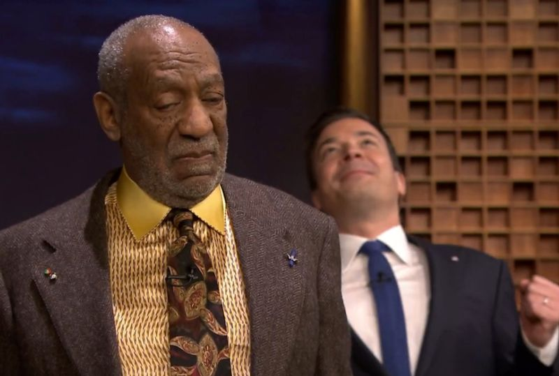 VIDEO: Bill Cosby Tightrope Walks Studio 6B with Jimmy Fallon on His Back!