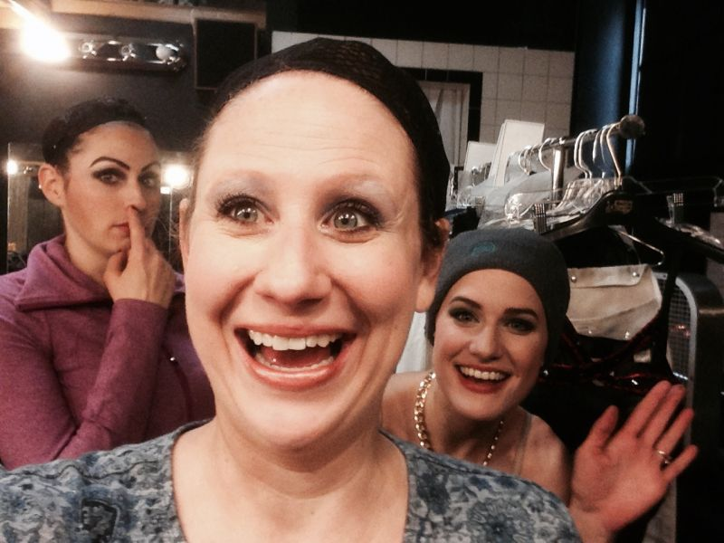 BWW Blog: Ashley Ward of Off-Broadway's 50 SHADES! THE MUSICAL - Having a Ball!