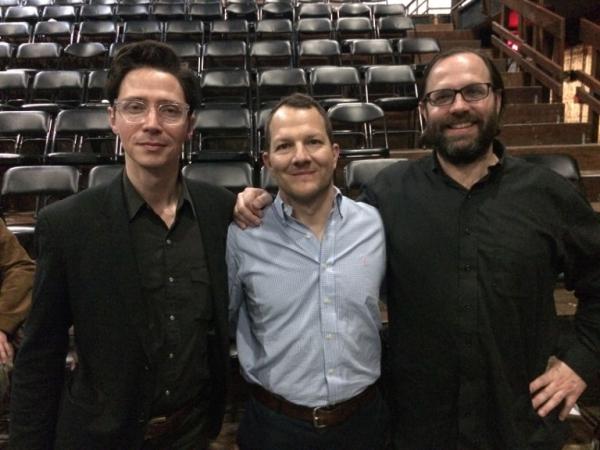 Luke Leonard, Kirk Lynn, Peter Stopschinski