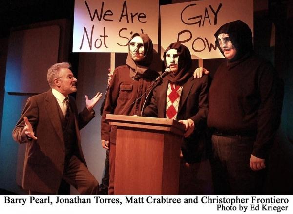Barry Pearl, Jonathan Torres, Matt Crabtree and Christopher Frontiero