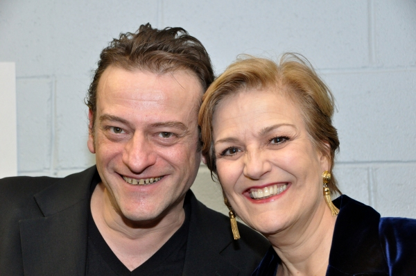 Jean-Pierre Perraeux and Karen Mason