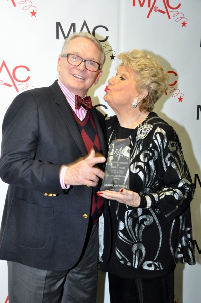 Bob Mackie and Marilyn Maye