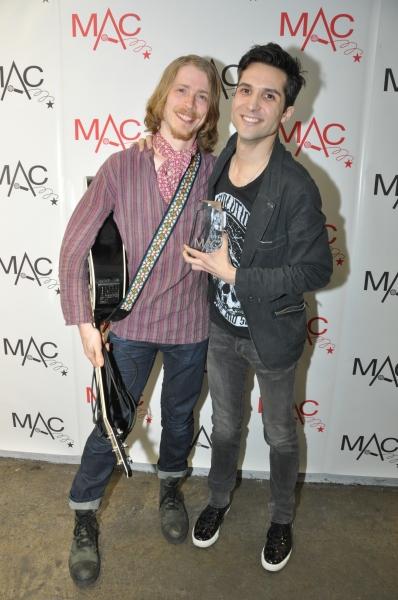 Aaron Jones and Jonathan Whitton  Photo