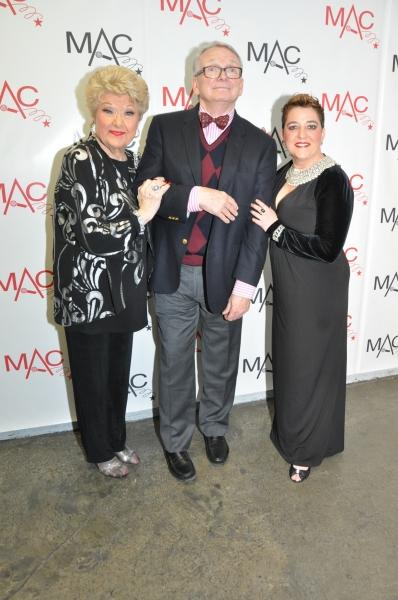 Marilyn Maye, Bob Mackie and Terese Genecco