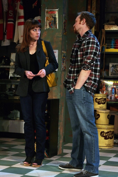 Photo Flash: First Look at the World Premiere of SALVAGE at First Folio Theatre